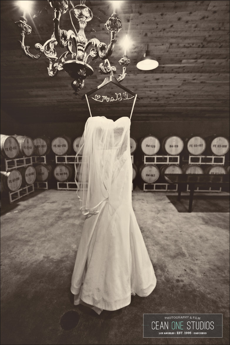 bride dress black and white | Cean One Photography| Southern California Wedding Photographer | Lincourt Vineyards