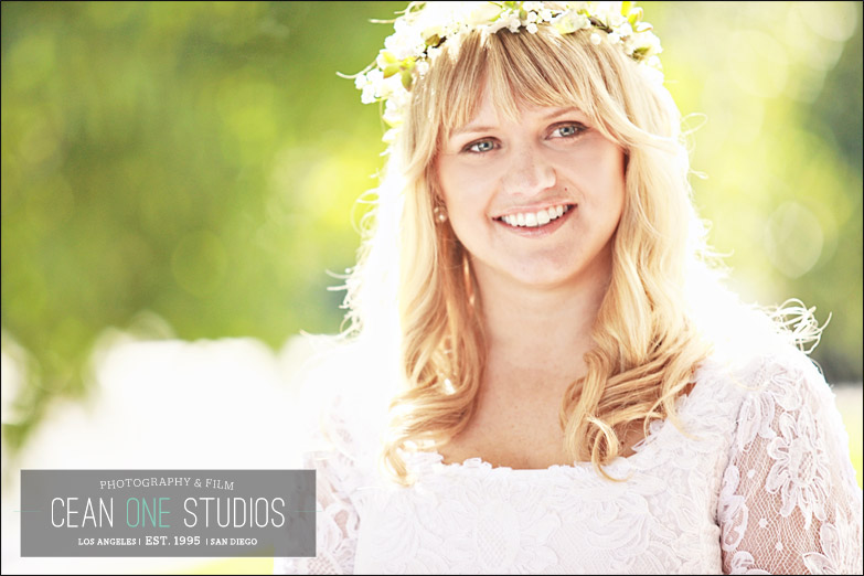 rustic bride smiling | Cean One Photography| Southern California Wedding Photographer |Santa Barbara Wedding