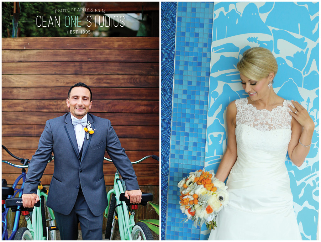 bride and groom portraits | Cean One Photography| Southern California Wedding Photographer | The Pearl Wedding