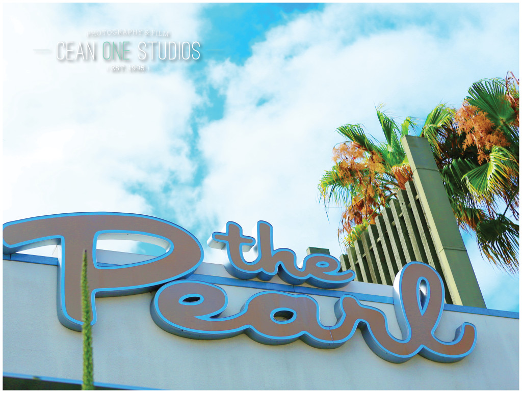 The Pearl sign | Cean One Photography| Southern California Wedding Photographer | The Pearl Wedding