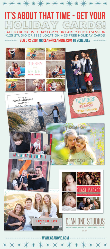 holiday cards | Cean One Photography | Family Photographer
