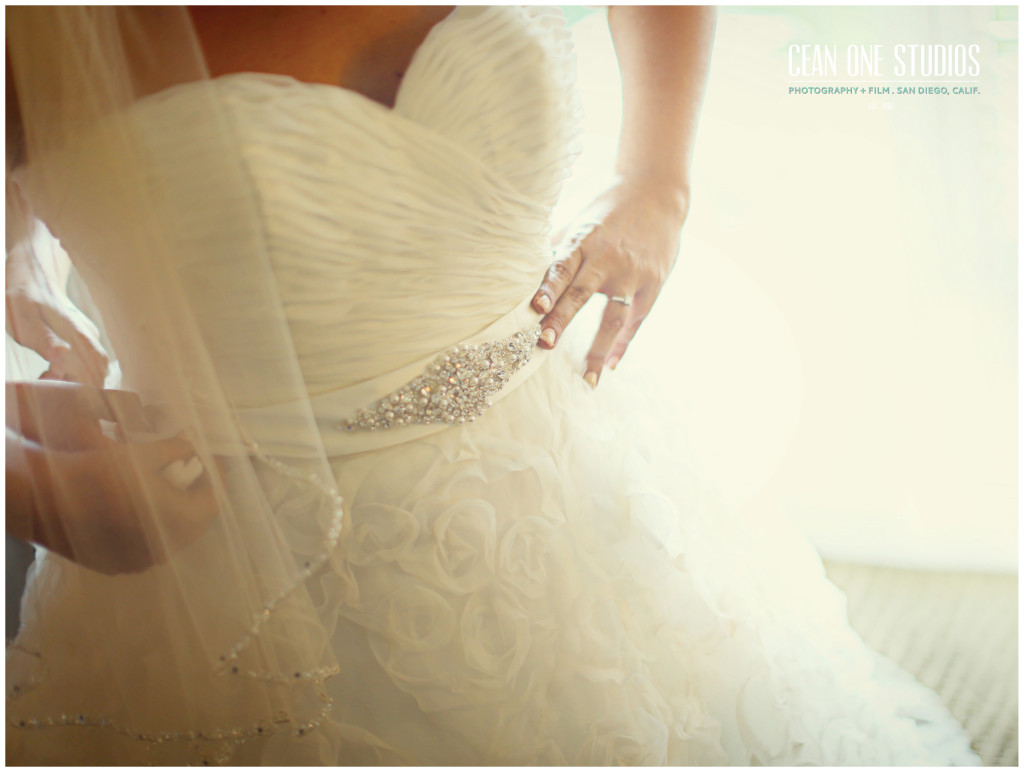 bride wedding dress | Cean One Photography | San Diego wedding photographer