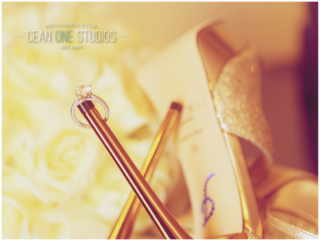 wedding ring on heal  | Cean One Photography | Destination Wedding Photography
