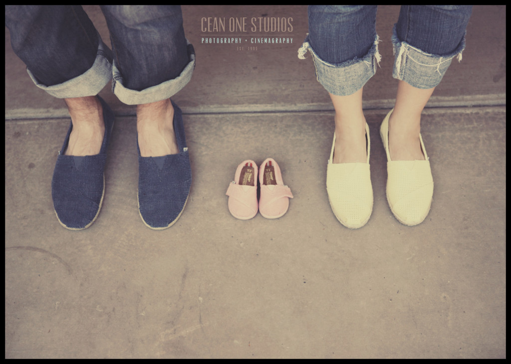 parents shoes with baby shoes | Cean One Photography | San Diego Family Photographer
