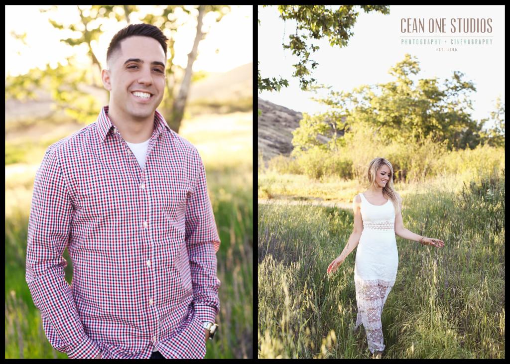 portrait of fiance | San Diego Engagement Photographer
