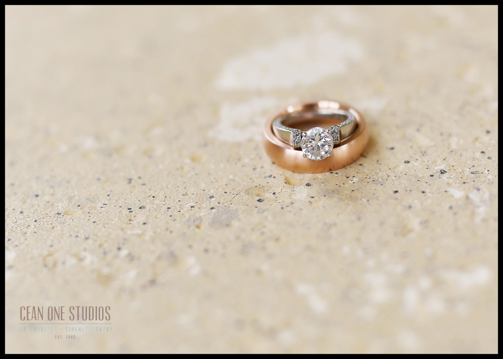 Macro Wedding Rings | Rancho Palos Verdes San Diego Wedding Photographer