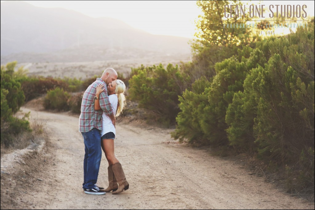 couple in dessert  | Engagement Session | San Diego Wedding Photographer
