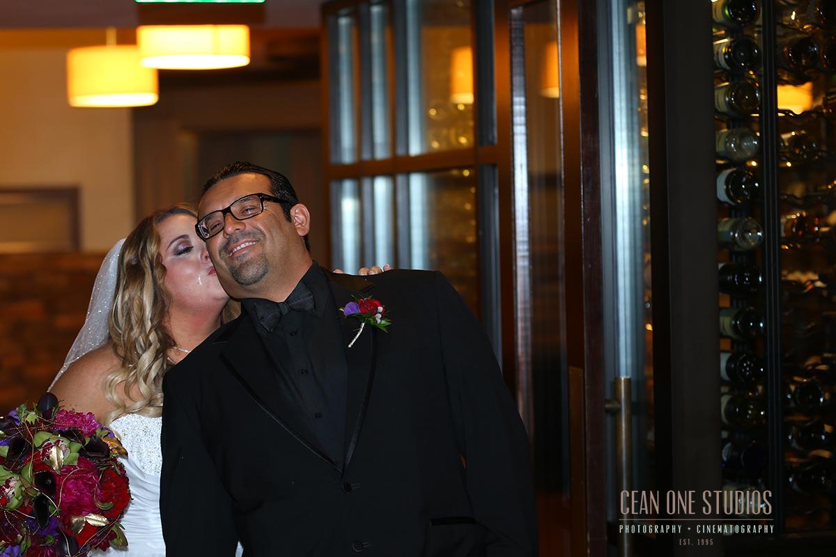 bride kissing groom | destination wedding | San Diego Wedding Photographer