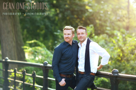 two men in a park | Cean One Studios Love is Love | San Diego Wedding Photographer