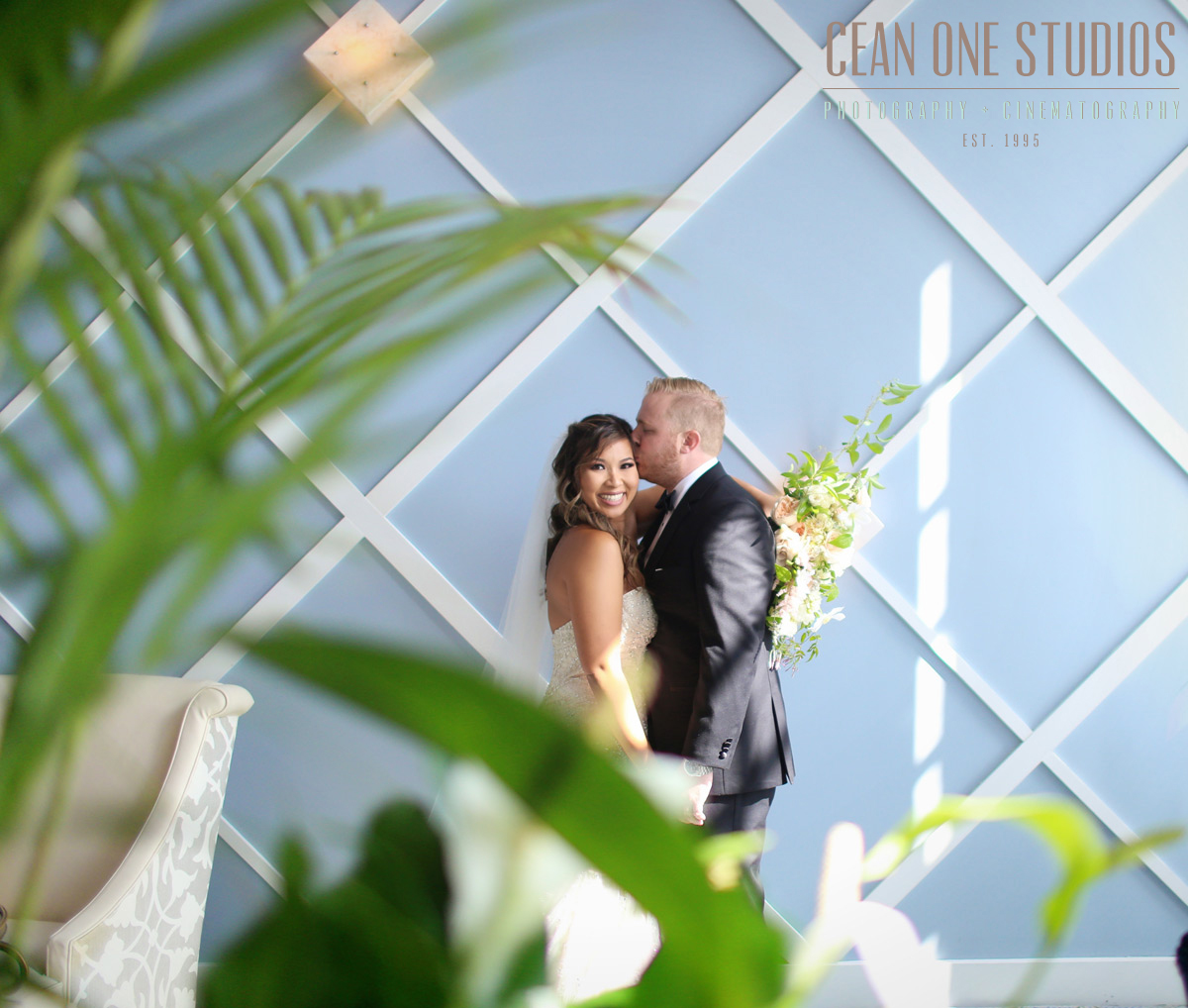 bride smiling at camera | Cean One Photography | San Diego Wedding Photographer | Portofino Wedding