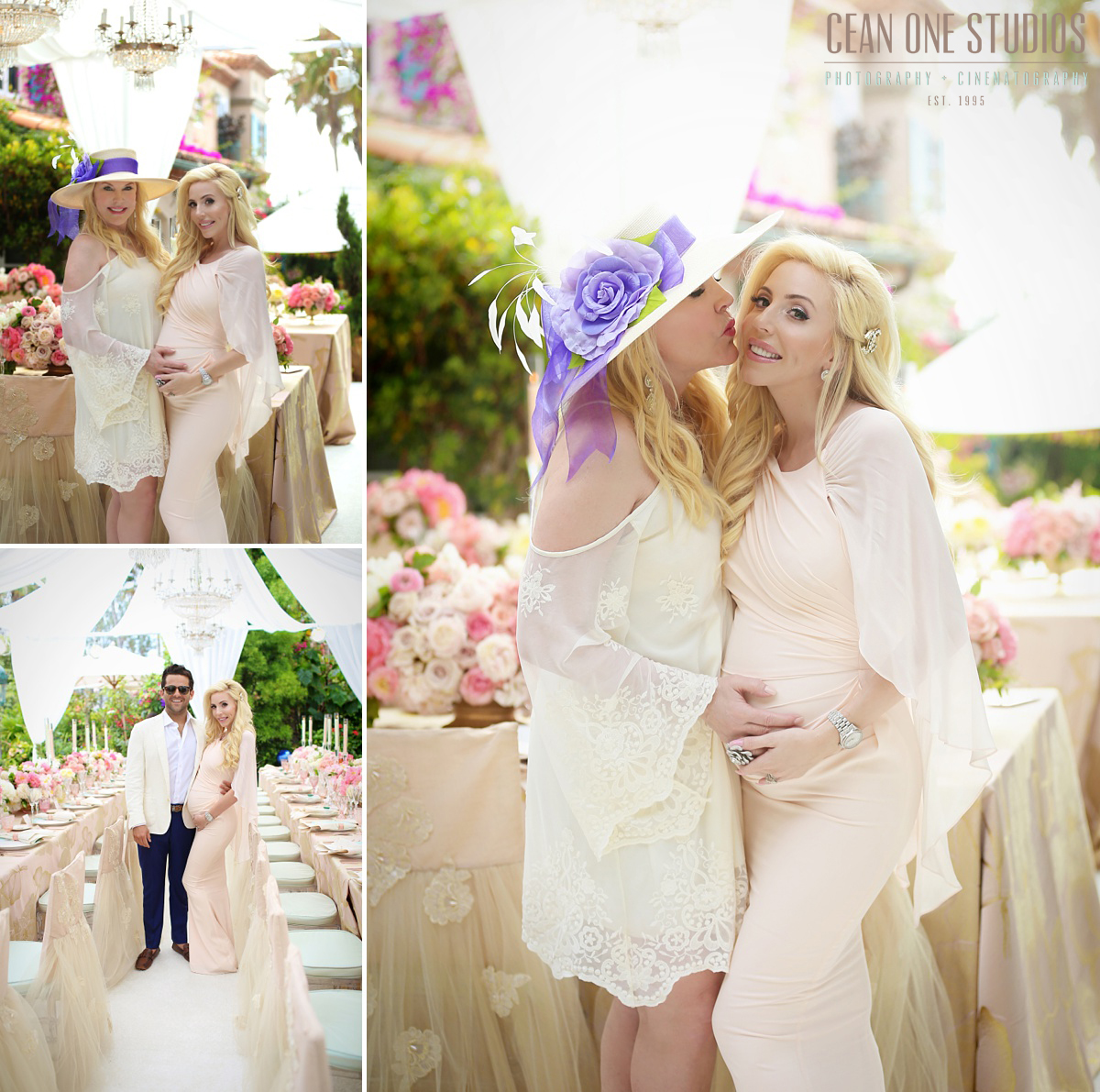 Blonde Pregant Woman | LA Family Photographer